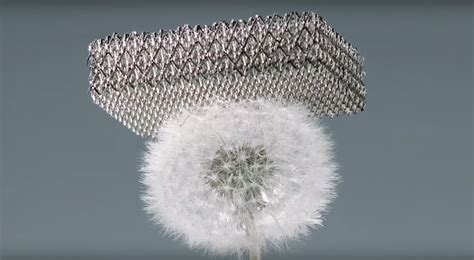 Boeing's microlattice: The lightest metal ever – How It Works