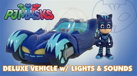 PJ Masks Catboy Deluxe Cat-Car with Lights and Sounds