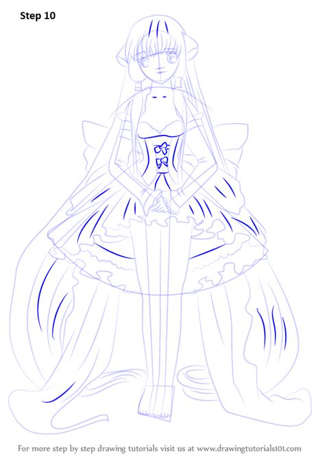 Learn How to Draw Chi from Chobits (Chobits) Step by Step