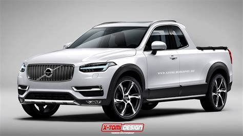 2015 Volvo XC90 Rendered as Pickup Truck from Your
