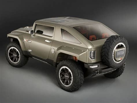 2018 Hummer H3 Concept rear view - 2021 and 2022 New SUV