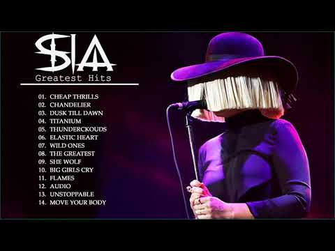 Sia and her dogs • Popjustice