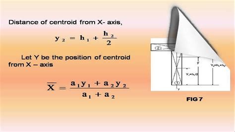 Explain centroid of complex shapes & centroid of T