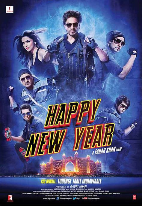 Happy New Year new movie posters: Check out Shah Rukh Khan